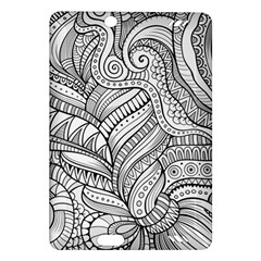Zentangle Art Patterns Amazon Kindle Fire Hd (2013) Hardshell Case