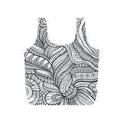 Zentangle Art Patterns Full Print Recycle Bags (s)