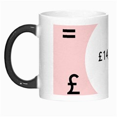 Added Less Equal With Pink White Morph Mugs