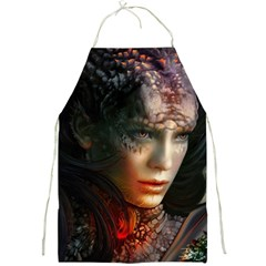 Digital Fantasy Girl Art Full Print Aprons