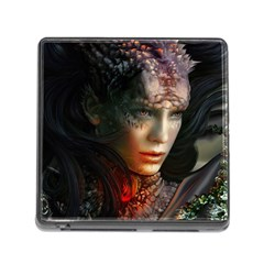 Digital Fantasy Girl Art Memory Card Reader (square)