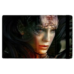 Digital Fantasy Girl Art Apple Ipad 3/4 Flip Case