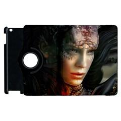 Digital Fantasy Girl Art Apple Ipad 3/4 Flip 360 Case