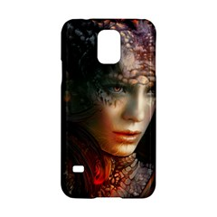 Digital Fantasy Girl Art Samsung Galaxy S5 Hardshell Case