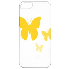 Yellow Butterfly Animals Fly Apple iPhone 5 Classic Hardshell Case