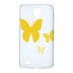Yellow Butterfly Animals Fly Galaxy S4 Active