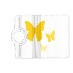 Yellow Butterfly Animals Fly Kindle Fire HD (2013) Flip 360 Case