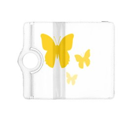 Yellow Butterfly Animals Fly Kindle Fire HDX 8.9  Flip 360 Case
