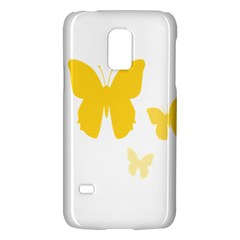 Yellow Butterfly Animals Fly Galaxy S5 Mini