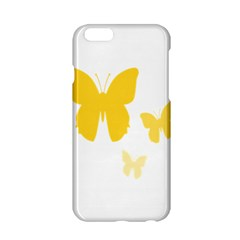 Yellow Butterfly Animals Fly Apple iPhone 6/6S Hardshell Case