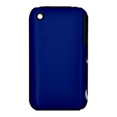 Bubbles Circle Blue iPhone 3S/3GS