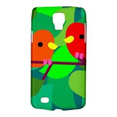 Animals Birds Red Orange Green Leaf Tree Galaxy S4 Active