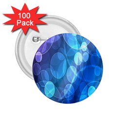 Circle Blue Purple 2.25  Buttons (100 pack)