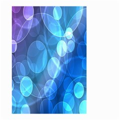 Circle Blue Purple Small Garden Flag (Two Sides)