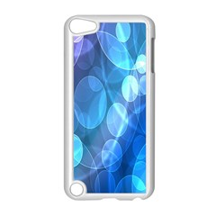Circle Blue Purple Apple Ipod Touch 5 Case (white)