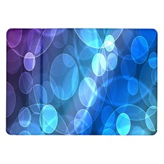 Circle Blue Purple Samsung Galaxy Tab 10.1  P7500 Flip Case