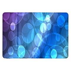 Circle Blue Purple Samsung Galaxy Tab 8.9  P7300 Flip Case