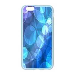 Circle Blue Purple Apple Seamless iPhone 6/6S Case (Color)
