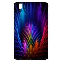 Bird Feathers Rainbow Color Pink Purple Blue Orange Gold Samsung Galaxy Tab Pro 8.4 Hardshell Case