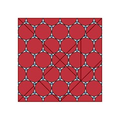 Circle Red Purple Acrylic Tangram Puzzle (4  x 4 )