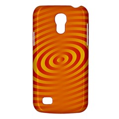 Circle Line Orange Hole Hypnotism Galaxy S4 Mini