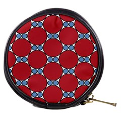 Circle Blue Purple Big Small Mini Makeup Bags