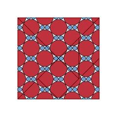 Circle Blue Purple Big Small Acrylic Tangram Puzzle (4  x 4 )