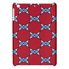 Circle Blue Purple Big Small Apple iPad Mini Hardshell Case