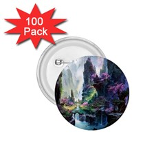 Fantastic World Fantasy Painting 1 75  Buttons (100 Pack)