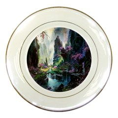 Fantastic World Fantasy Painting Porcelain Plates
