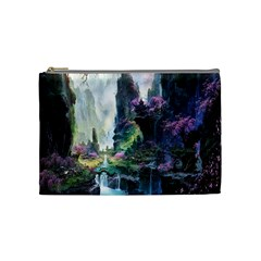 Fantastic World Fantasy Painting Cosmetic Bag (medium)