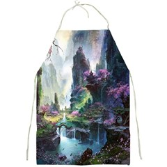 Fantastic World Fantasy Painting Full Print Aprons