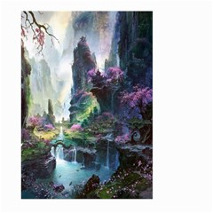 Fantastic World Fantasy Painting Large Garden Flag (two Sides)