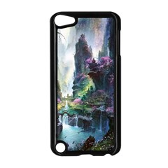 Fantastic World Fantasy Painting Apple Ipod Touch 5 Case (black)