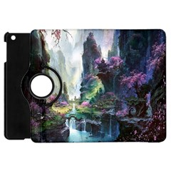 Fantastic World Fantasy Painting Apple iPad Mini Flip 360 Case