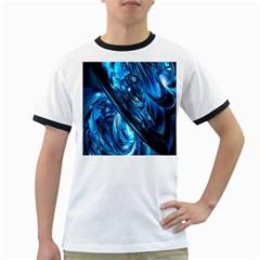 Blue Wave Ringer T Shirts
