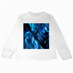 Blue Wave Kids Long Sleeve T Shirts