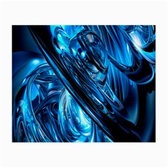 Blue Wave Small Glasses Cloth (2-Side)