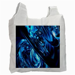 Blue Wave Recycle Bag (One Side)