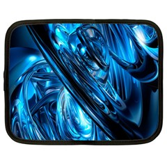 Blue Wave Netbook Case (XL)