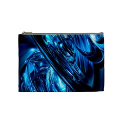 Blue Wave Cosmetic Bag (Medium)
