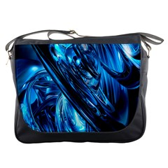 Blue Wave Messenger Bags