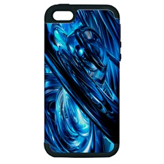 Blue Wave Apple iPhone 5 Hardshell Case (PC+Silicone)