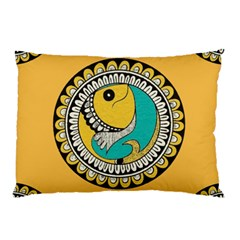 Madhubani Fish Indian Ethnic Pattern Pillow Case (Two Sides)