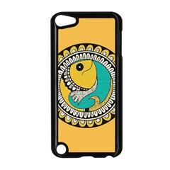 Madhubani Fish Indian Ethnic Pattern Apple iPod Touch 5 Case (Black)