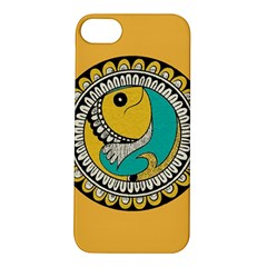 Madhubani Fish Indian Ethnic Pattern Apple iPhone 5S/ SE Hardshell Case