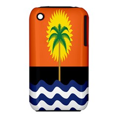 Coconut Tree Wave Water Sun Sea Orange Blue White Yellow Green iPhone 3S/3GS