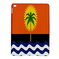 Coconut Tree Wave Water Sun Sea Orange Blue White Yellow Green iPad Air 2 Hardshell Cases