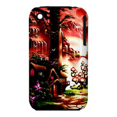 Fantasy Art Story Lodge Girl Rabbits Flowers Iphone 3s/3gs