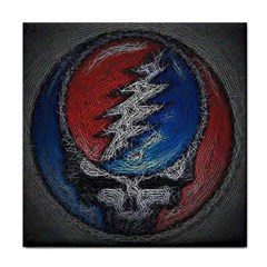 Grateful Dead Logo Tile Coasters
